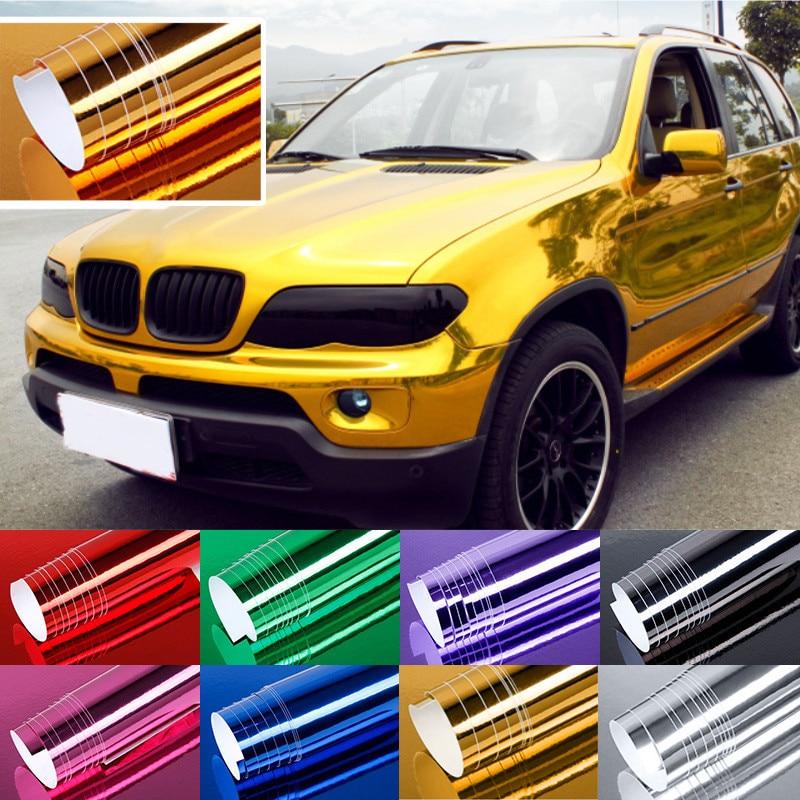 152x10/20/30/50cm DIY Car Truck PVC Ice Vinyl Wrap Waterproof Stain Ant-UV Body Sticker Adhesive Decal Film Sheet Vehicle#293592