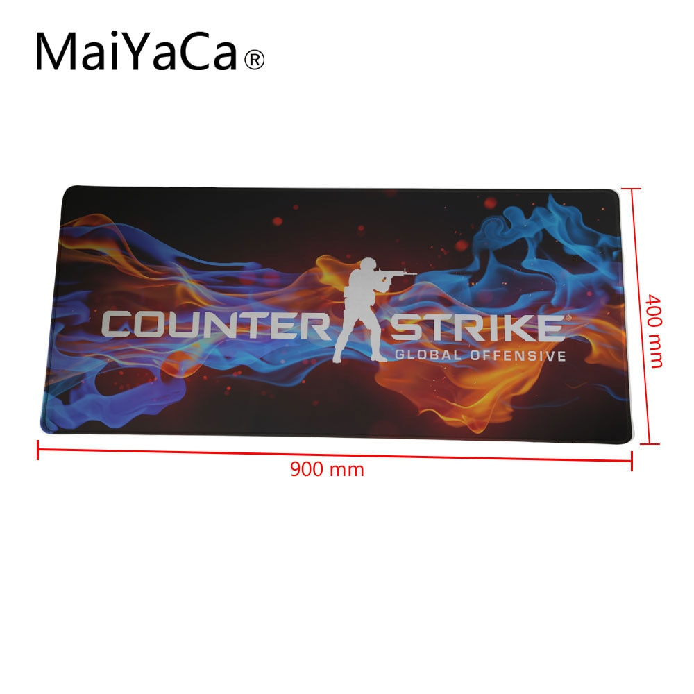 MaiYaCa csgo mouse pad 40x90cm 30x90cm notbook computer mousepad hot sales Rubber gaming padmouse ga
