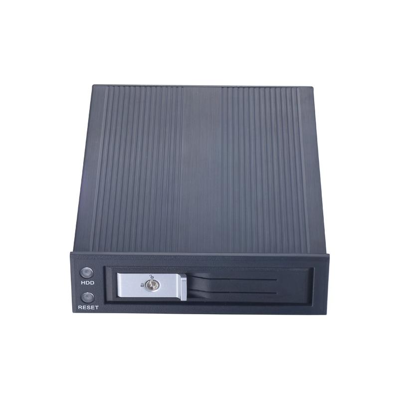 Cremalheira móvel interna de 3.5 polegadas sata hdd com interruptor de alimentação e acesso com bloqueio para 5.25in baía de computador óptico com ventilador de refrigeração