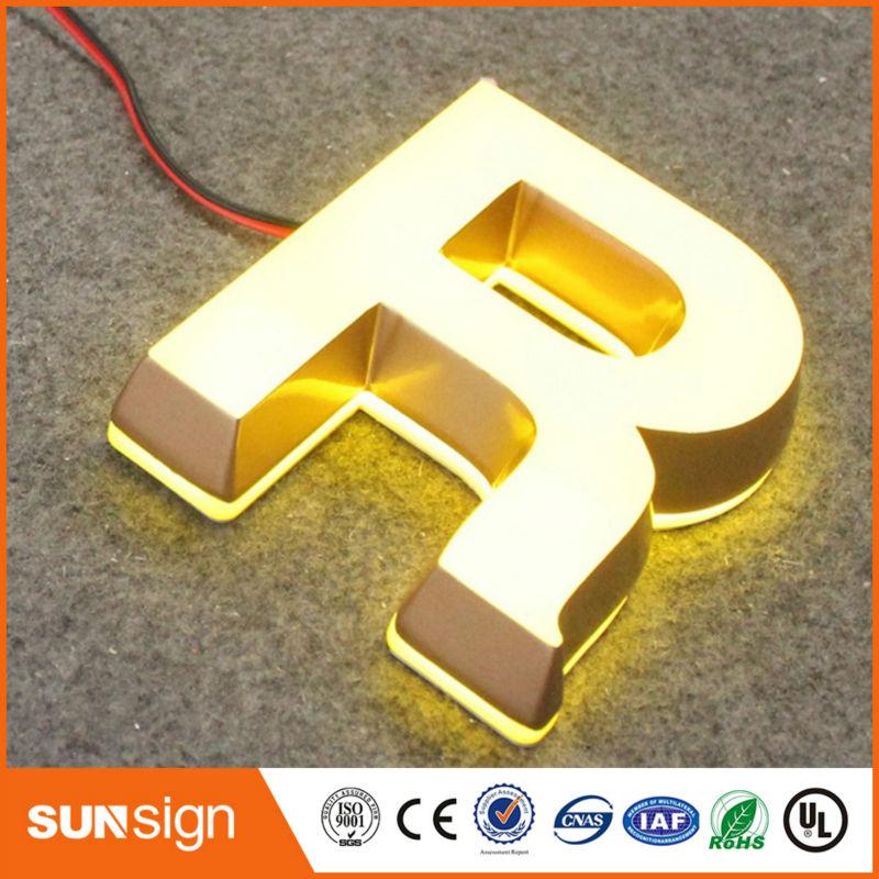 Iluminado projeto frontlit acrílico levou tabuleta