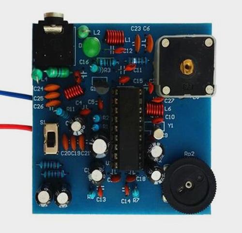 ¡Envío gratis! BA1404 BP máquina FM Transmisor placa kit / FM estéreo transmisor placa kit (piezas)