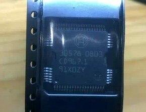 Бесплатная доставка 10 шт./лот 30578 QFP-64 автомобильный пусковой привод впрыска чип компьютерная плата Железный патч 64 фута