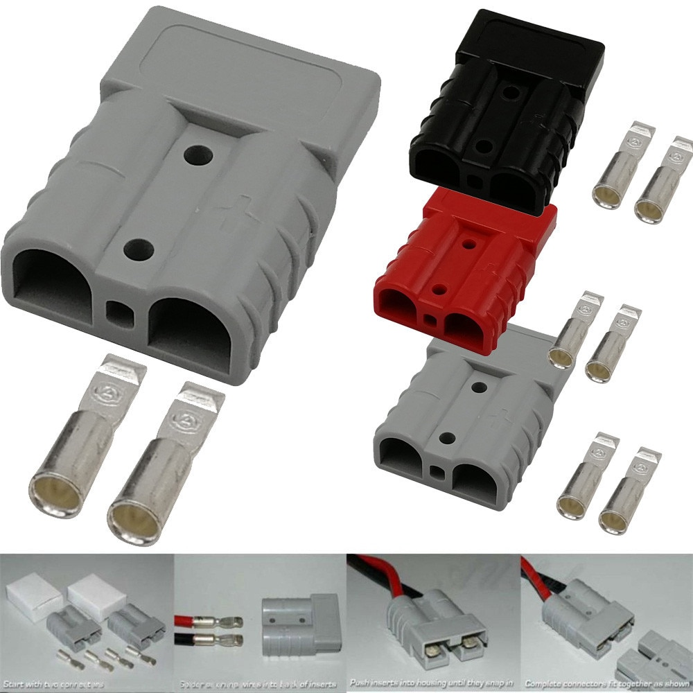 1 paquete nuevo caliente 50 Amp para enchufe Power Pole Cargador eléctrico conector de batería usb adaptador Drop Shipping 30