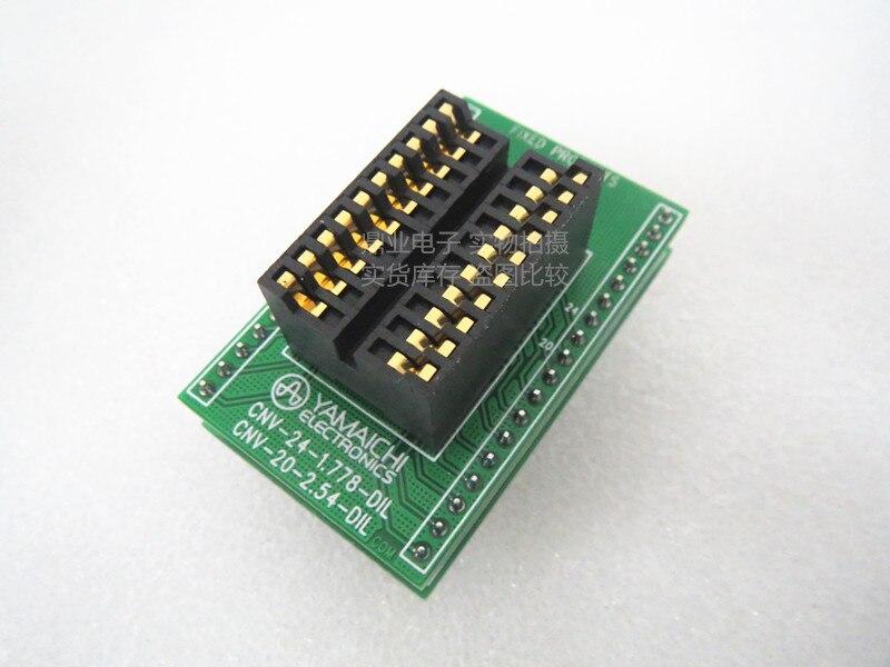 jinyushi tomada para teste de alta temperatura original ic 254mm 20 pinos 100 novo