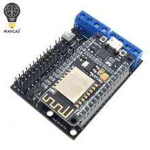 Node MCU Development Kit NodeMCU + Motor Shield Esp Wifi Esp8266 Esp-12e diy rc toy remote control Lua IoT smart car Esp12e