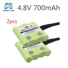 Hobby Hub 2pcs/lot 4.8V 700MAH NI-MH rechargeable Battery Pack For Uniden BP-38 BP-40 BT-1013 GMR FRS 2Way Radio batteries