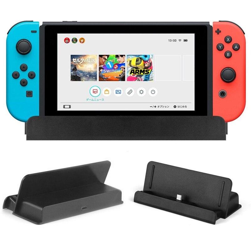 1 шт. USB Type-C зарядная док-станция Держатель зарядного устройства для Nintendo Switch