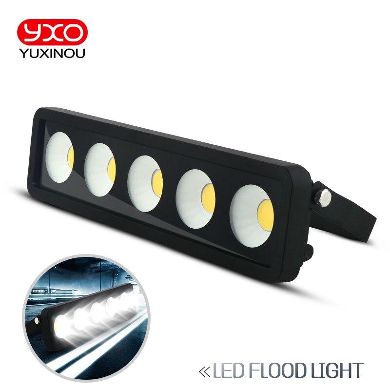 LED الفيضانات ضوء IP65 للماء 50W 100W 150W 200W 250W 300W 220V 230V الفيضانات ضوء أضواء في الهواء الطلق الجدار مصباح حديقة العارض