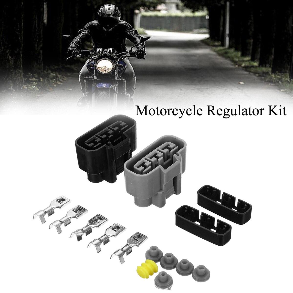 Regulador de voltagem, kit de conector elétrico 710000261 para kan-am honda kawasaki yamaha bmw po1 acessórios para motocicleta