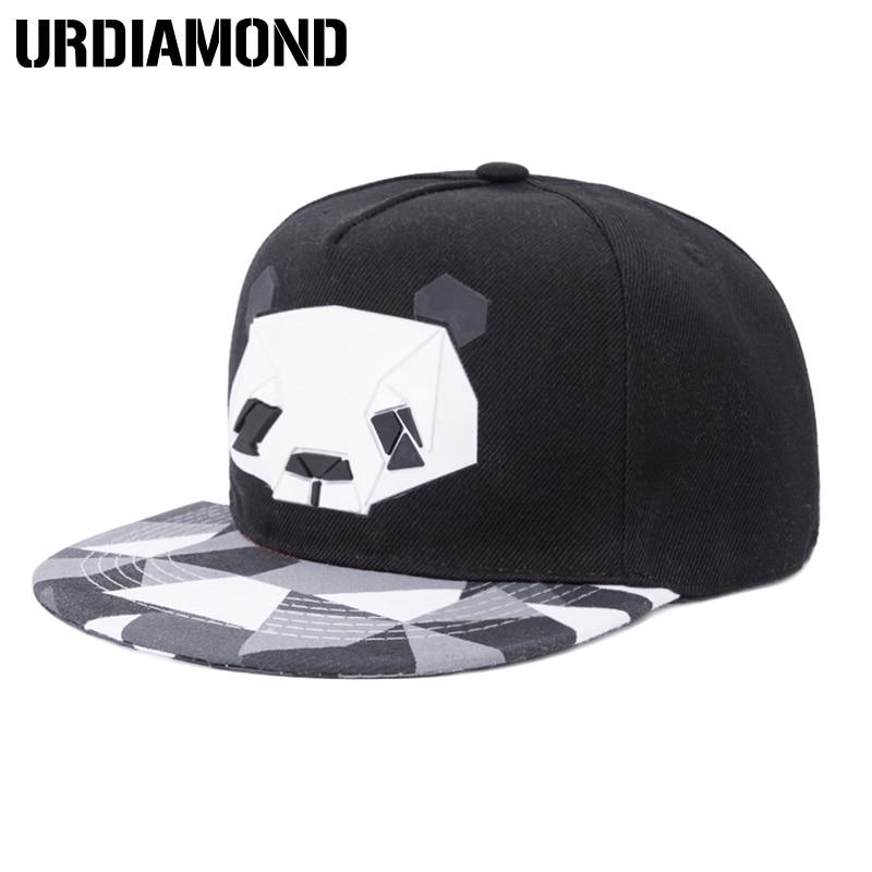 New Arrive Snapback For Men Women Snapback Hat Outdoor Hat Style Baseball Hat Cap Cute Panda Baseball Cap Adjustable