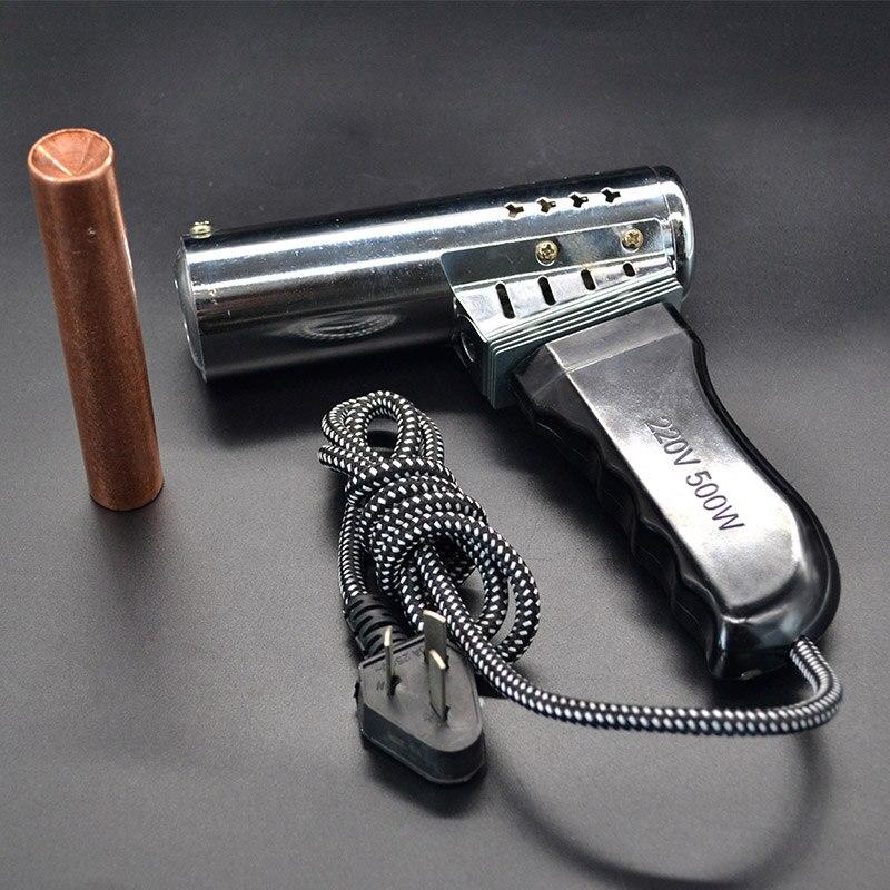 Bezerro dehorner arma tipo chifre de cordeiro, chifre elétrico, ferro quente cerâmica sem sangue e aparelho