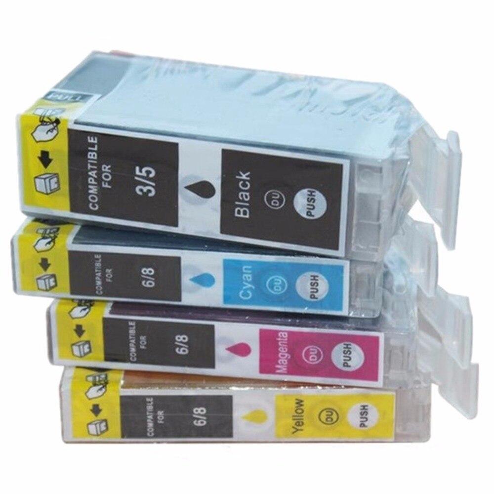 Reemplazo de BCI-3E BCI-3 BCI 3 3E TY3/3e/5 cartuchos de tinta para Canon PIXUS S400 S400SP S400x S450 S500 S520 S520x S530D S600