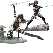 16cm Bishoujo 동상 Psylocke X-Force 닌자 복장 MK154 그림 장난감 Brinquedos Figurals 컬렉션 모델