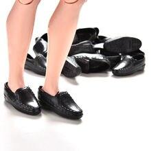 Nouvelle vente 10 paires noir mode poupées accessoires poupée chaussures baskets chaussures pour Ken pour Mini bébé jouet