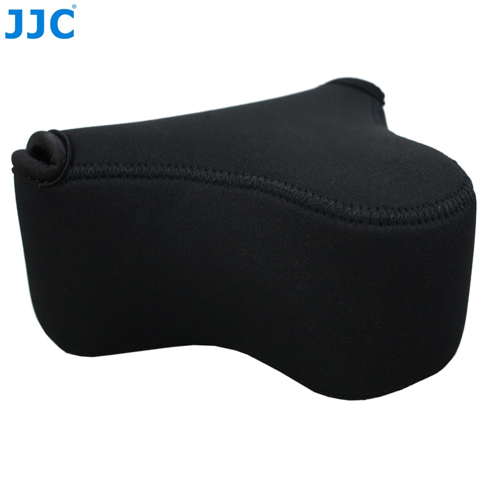 JJC мягкая беззеркальная сумка для камеры маленький неопреновый водонепроницаемый чехол для Sony A6100 A6600 A6500 A6300 A6000 Canon M10 G3 X SX520