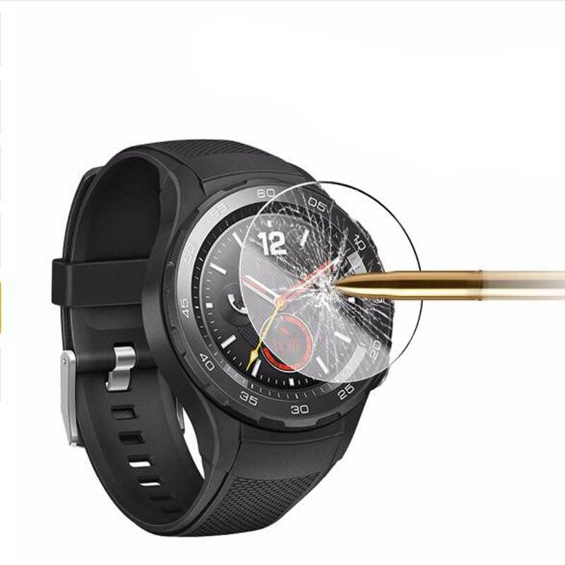 Película protectora transparente de vidrio templado para Huawei Watch 2, reloj inteligente Pro, funda protectora de pantalla endurecida