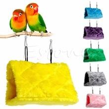 Плюшевый гамак-клетка с птицами и попугаями, счастливый домик, кровать-палатка, двухъярусная игрушка, подвесная Cave-Y102