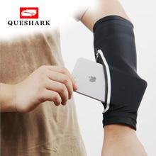 Queshark Sport poche bras plus chaud téléphone brassard sac randonnée pêche course cyclisme téléphone poignet sac bras manchon pour téléphone