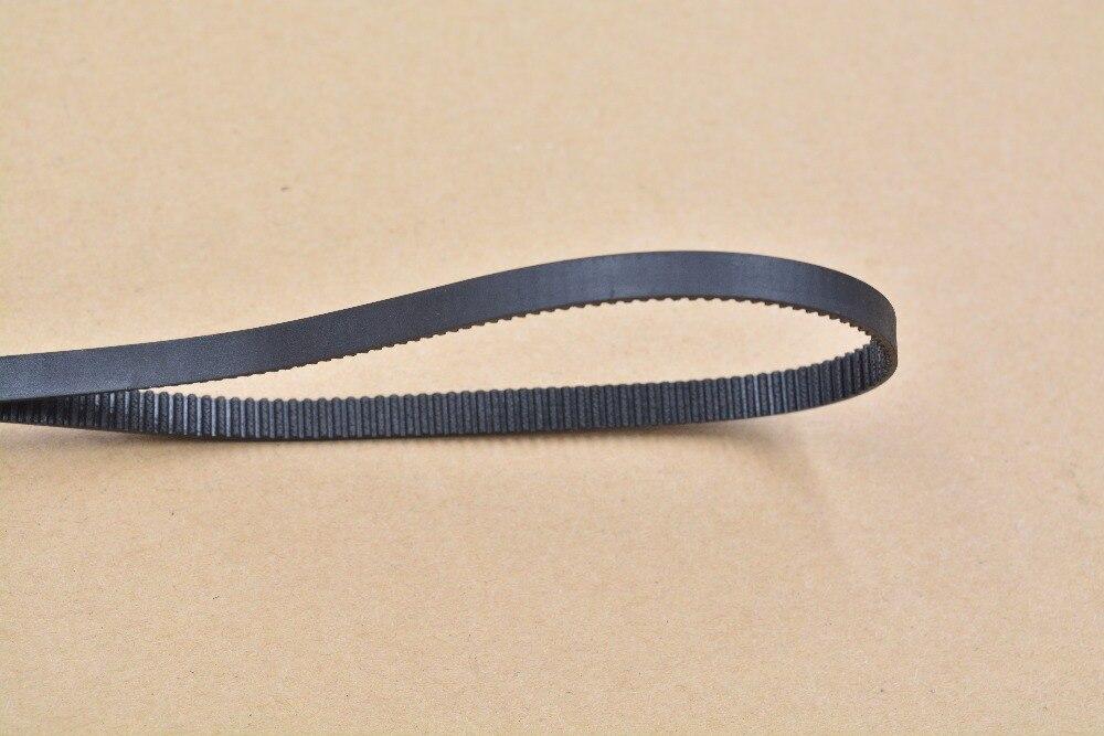 Correa de impresora 3d, lazo cerrado de goma, 2Gt dentadura de temporizador, 570 de longitud, 1140mm de ancho, 6mm, 1140-2GT-6, 1 Uds.
