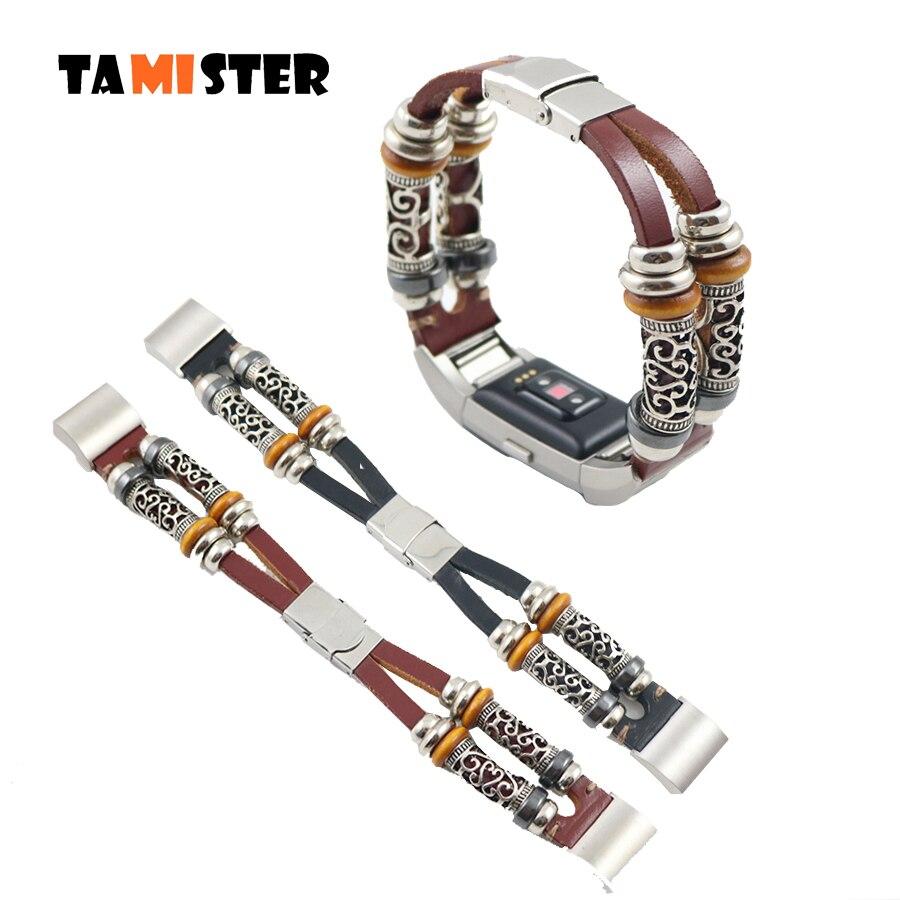 Часы из натуральной кожи, Starp для Fitbit Charge 2, браслет, браслет, часы, браслет, пульс, фитнес, активность, умные часы, браслет, Новинка