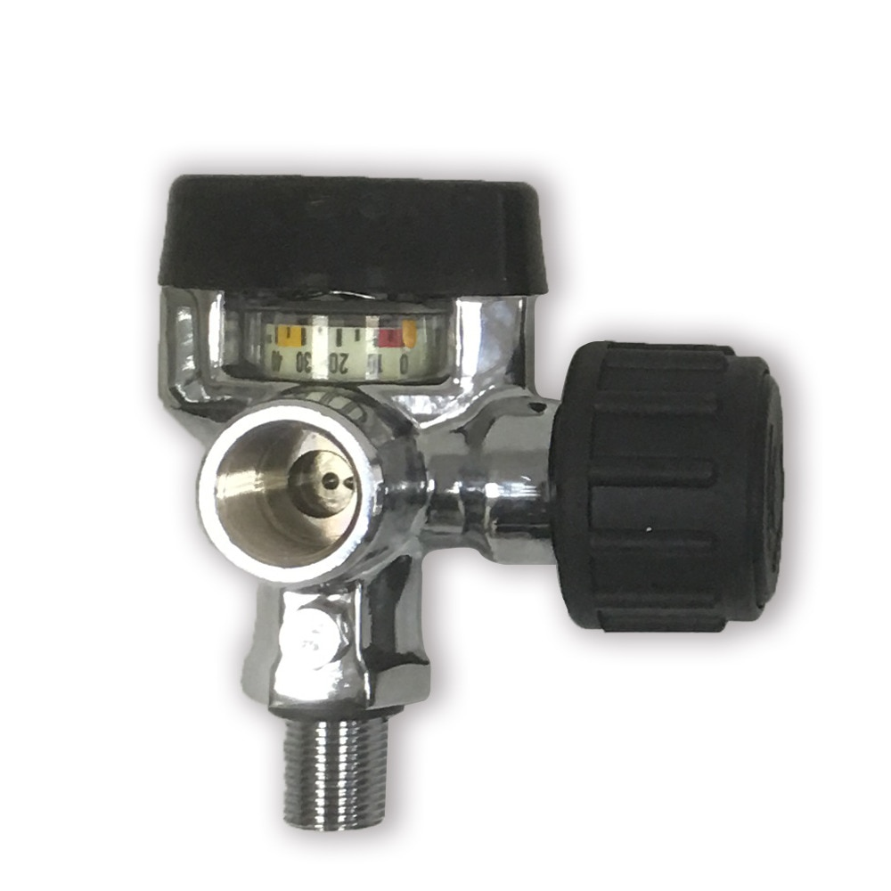 Pistola de aire comprimido AC921, válvula de tanque de paintball HP 4500psi para tanque de oxígeno de 6,8 L, compra directa de china ACECARE