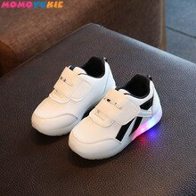 fashionable baby kids shoes for boys girls children's shoes sneakers tenis infantil glowing sneakers