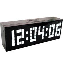 4 Farben LED Digitaler Wecker Wand Tabelle Desktop Neue Design mit Snooze Kalender Temperatur