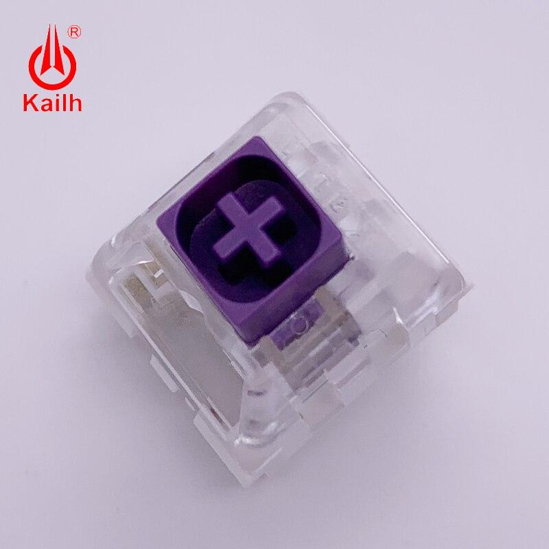 Купить с кэшбэком Kailh BOX Royal Switches  Purple DIY Mechanical keyboard Switches Dustproof IP56 waterproof tactile mx stem