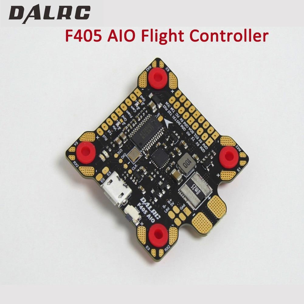 DALRC F405 AIO Flight Controller MCU STM32F405RGT6 MPU6000 Gyro F4 Flight Control Built in OSD BEC 9V/3A PDB for FPV Racing Dron