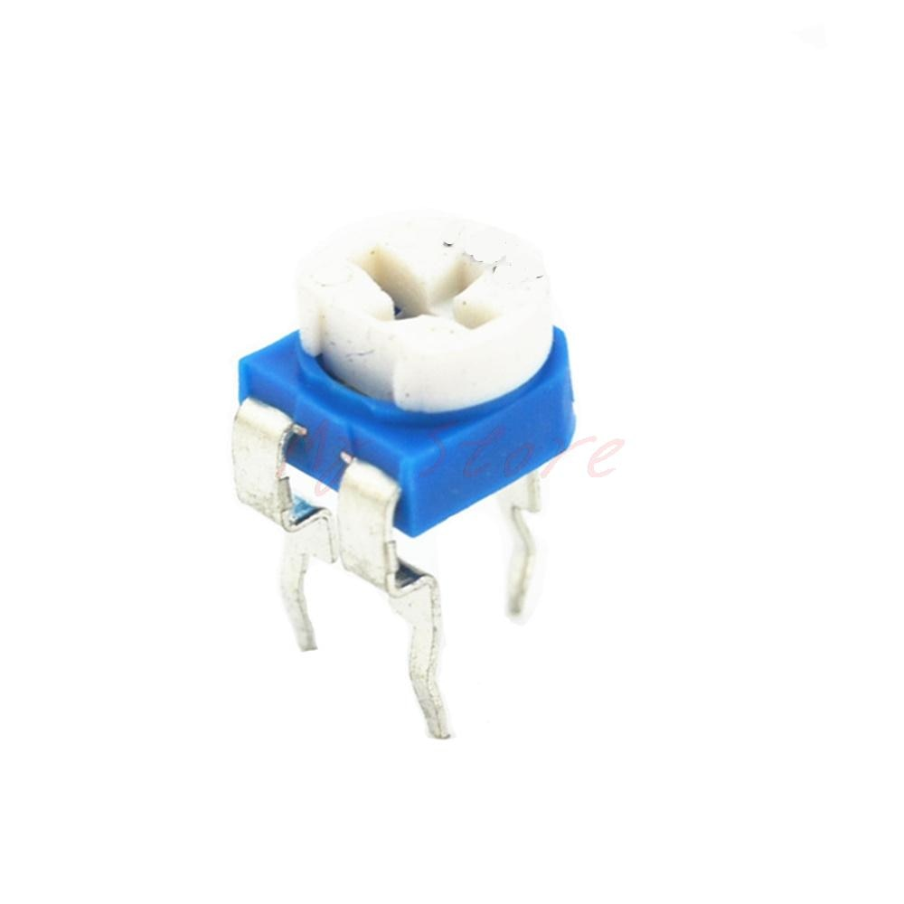 10 шт. RM065 4,7 K Ом триммер отделка горшок переменный резистор потенциометр 6 мм 472