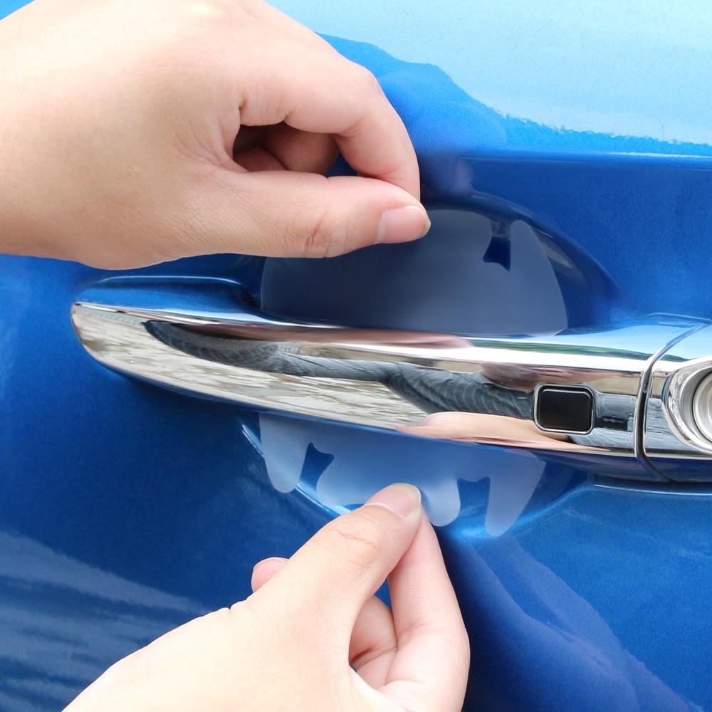 Carro lidar com película de proteção adesivo para renault megane 2 3 espanador logan clio laguna 2 toyota camry rav4 reiz honda apto jazz