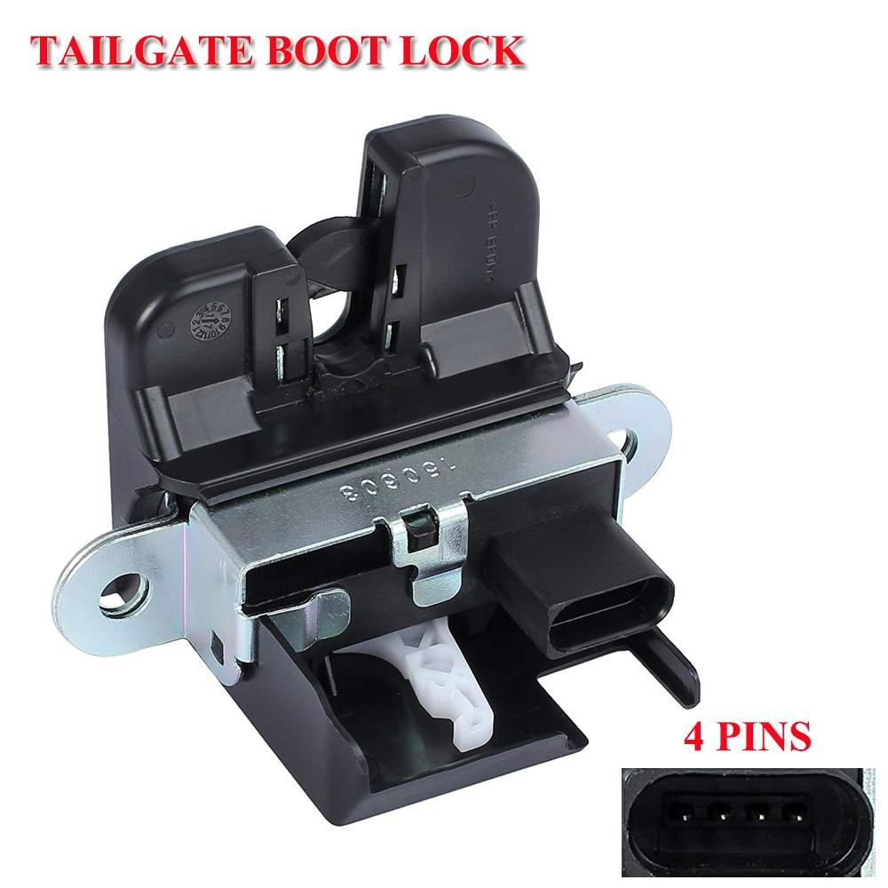 Loquet de verrouillage de couvercle de coffre arrière   Pour VW Passat B6 B7 GOLF MK5 6 GTI PASSAT POLO TIGUAN