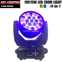19X15W Led Moving Head Beam zoom Wash lyre Light 300W High Power