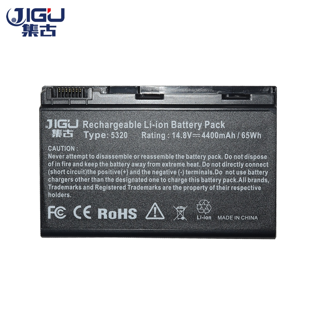 JIGU 8 celdas Taptop para Acer TravelMate 5720 de 5730 a 5720G...