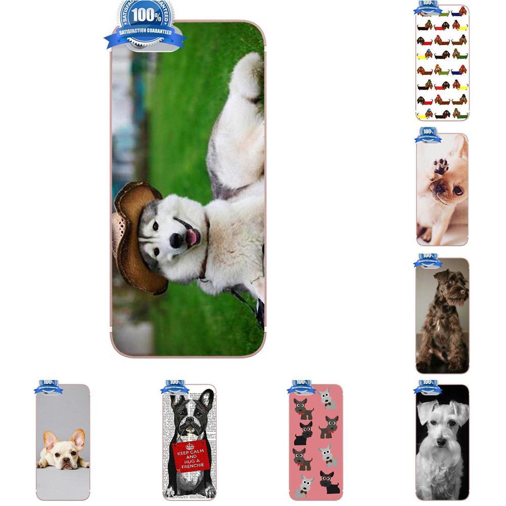 Oedmeb suave fundas de TPU cubre divertido lindo perro Animal para Xiaomi Redmi 5 4A 3 3S Pro Mi4 Mi4i Mi5 Mi5S Mi Max Mix 2 Note 3 4 Plus