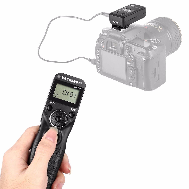 EACHSHOT-mando a distancia inalámbrico TW283/S1 para Sony Alpha a900 a850 a700 a560...