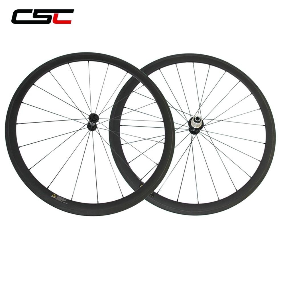 Ultra Light 100g Less Carbon Road Wheels 24mm 38mm 50mm 60mm 88mm Clincher Tubular Wheelset R13 R36 Hub and Lighter 424 Spoke