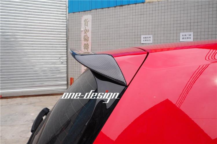 Fit for VW Golf 7 GTI GOLF7 R RZ modified carbon fiber carbon fiber tail wing spoiler