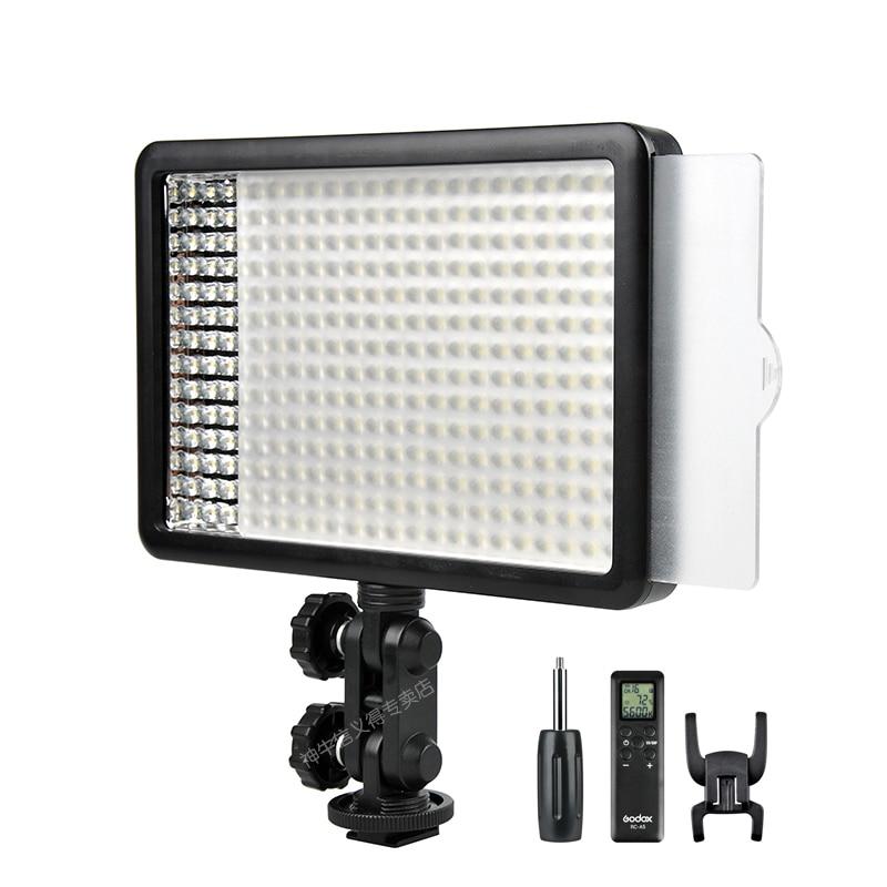 Godox-مصباح LED ثنائي اللون مع جهاز تحكم عن بعد ، إضاءة استوديو فيديو احترافية 308C ، 5500K/3300k