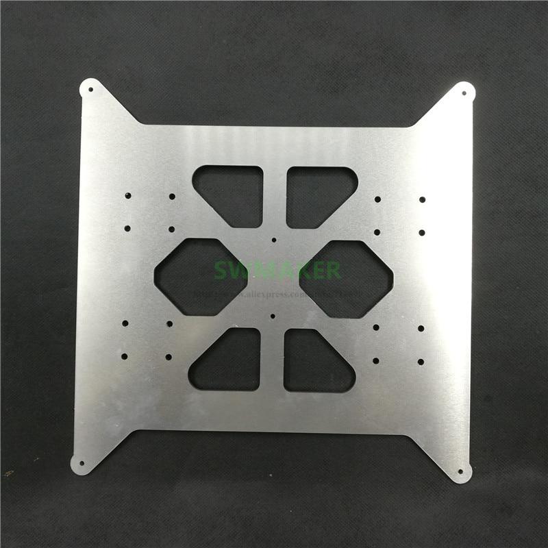 FLSUN Prusa i3-لوح قاعدة سرير ساخن ، ألومنيوم ، 3 مللي متر ، ترقية ، شحن مجاني