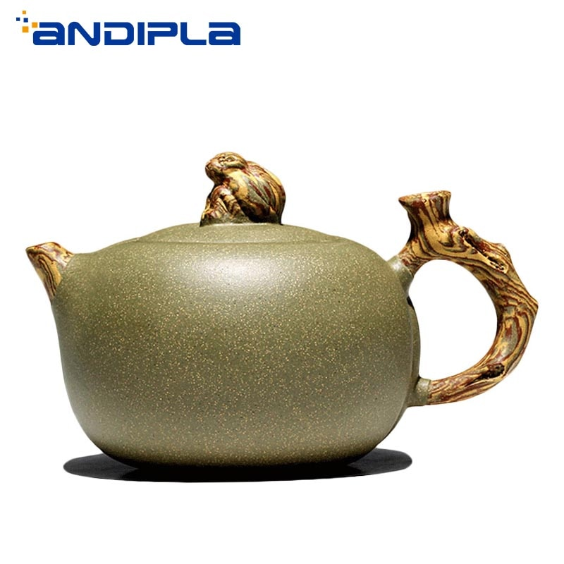 340cc Authentic Yixing Teapot Monkey Xianrui Pot China Health Purple Clay Tea Maker Master Handmade Teaware Kettle Brew Tea Pot