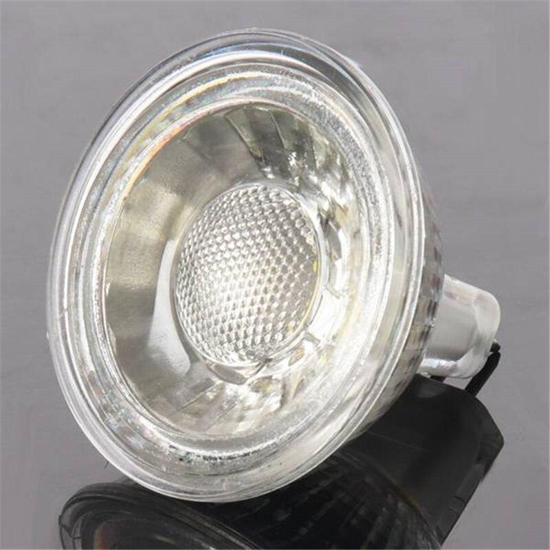 1 x foco LED de 5W MR16 (GU5.3), foco LED COB regulable, foco LED para el hogar AC 220-240 V, cuarto de baño, dormitorio, cocina