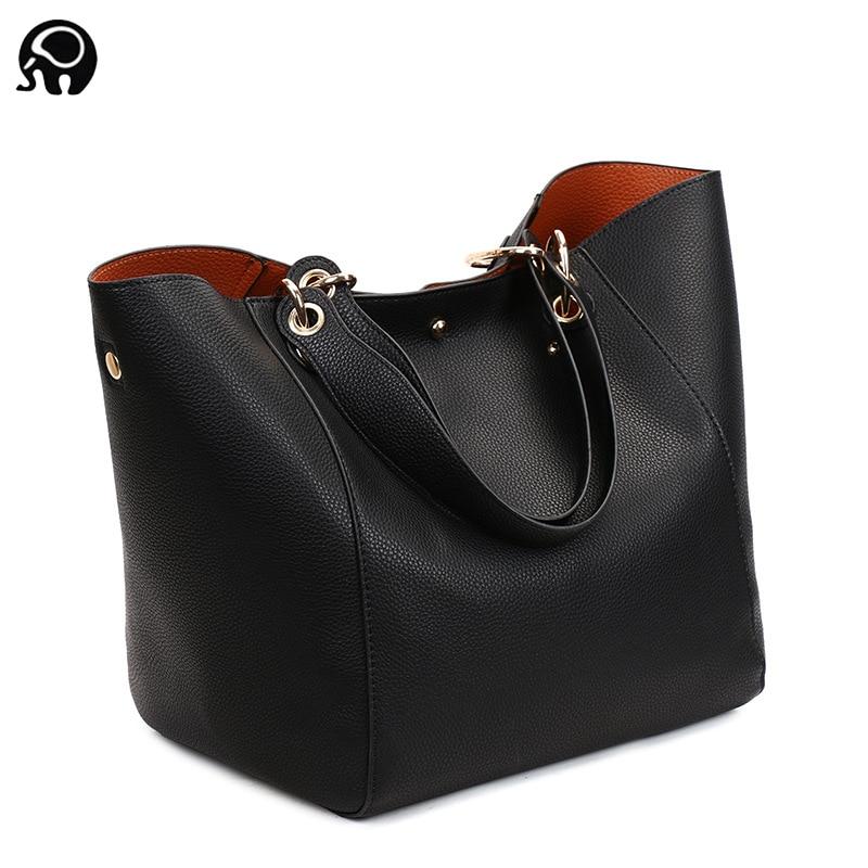 2020 Luxury brand Big Size Vintage PU Tote Handbag Women's Casual Large Capacity Shoulder Bag Girl Retro Travel Bolsa 12 colors