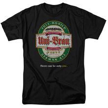 UNI-BRAU BEER LABEL Humorous Adult T-Shirt All Sizes