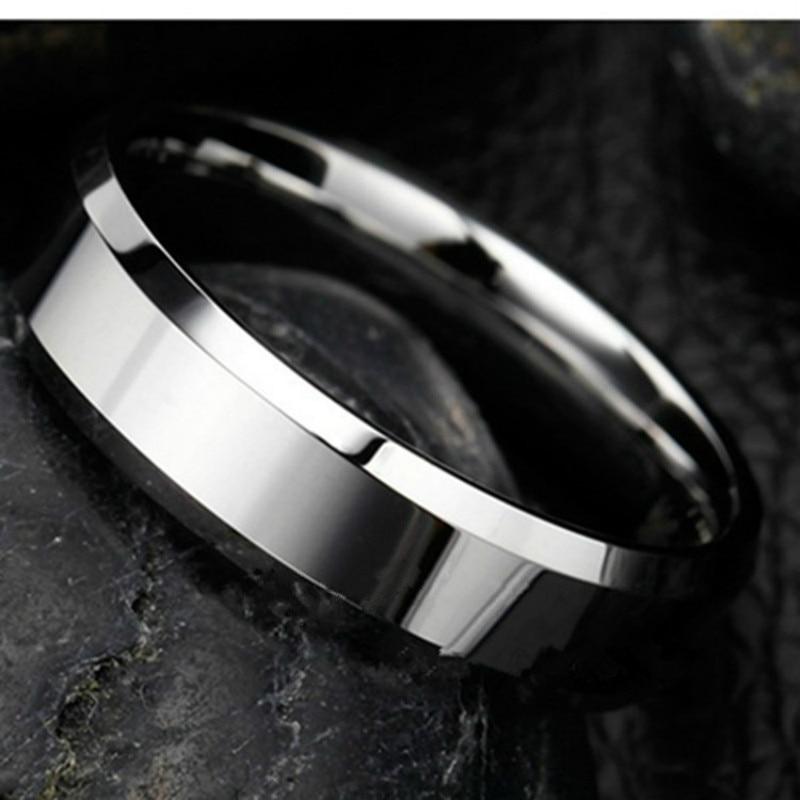 Ringe Für Frauen Edelstahl Ring Silber Überzogene