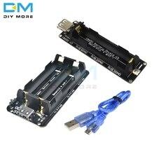 18650 литиевая Защита аккумулятора V8 V3 мобильный модуль расширения питания 5 В 3 в Micro USB порт Type-A для Arduino ESP32 ESP8266