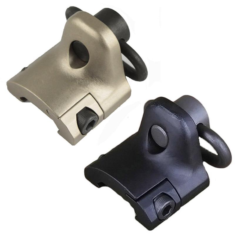 De alta calidad de la KAC estilo adaptadores de cabestrillo giratorios de montaje rápido separar para riel picatinny BK de caza Accesorios