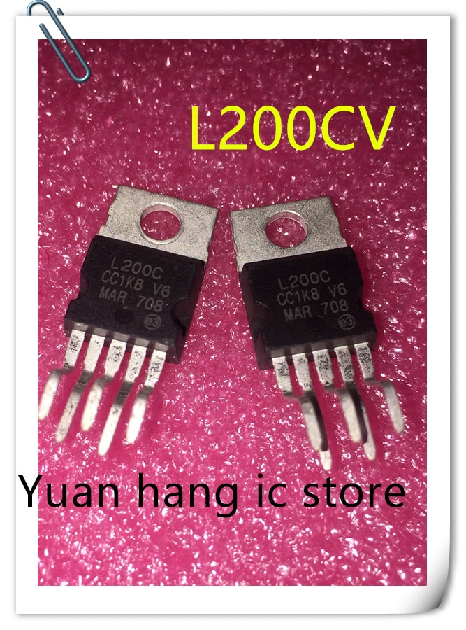 5 sztuk/partia L200CV L200C L200 TO220-5 nowy oryginał napięcia i prądu regulatora napięcia