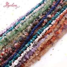 Perles de pierre naturelle puce perles forme irrégulière pour la fabrication de bijoux collier à faire soi-même Bracelet boucle doreille en vrac 4-5x5-7mm brin 15