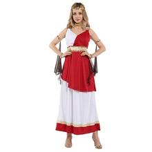 HUIHONSHE Sexy déesse grecque antique Athena Costumes femmes Halloween romain Cosplay carnaval mascarade jeu de rôle robe